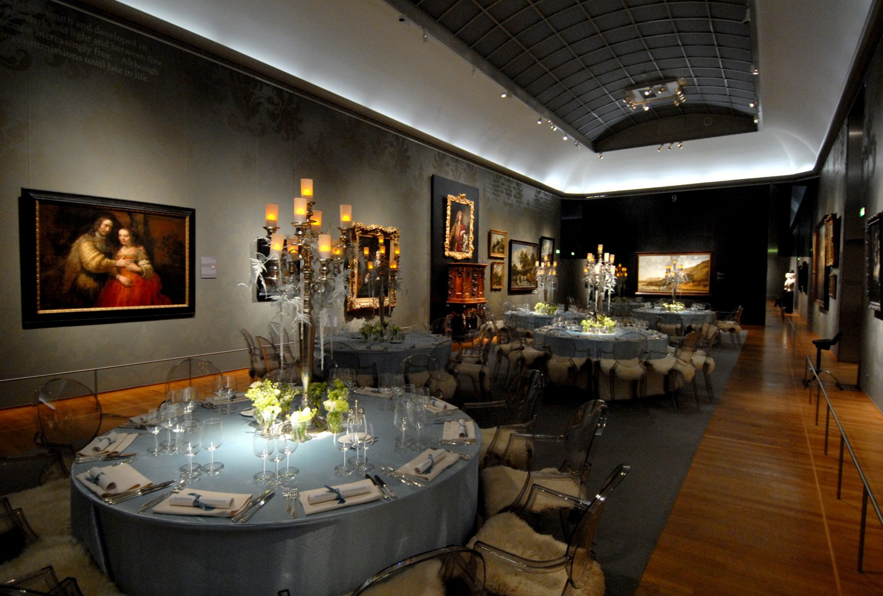 Dinner im Museum Bas de Boer Eventstyling - Dinner