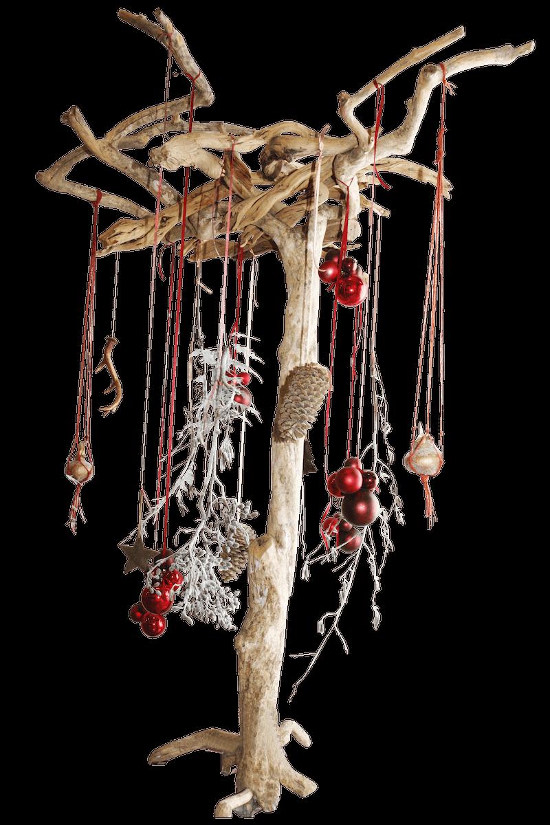 Bas de Boer Eventstyling Weihnachtsdekoration Traditional Eyecatcher Holzbaum mit Weihnachtsdekoweihnachtsfeier www.basdeboer eventstyling.de  - Weihnachtsfeier Eventstyling