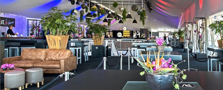 BasdeBoer Eventstyling, Mietmöbel, Mietpflanzen, Dekorationen, Eyecatcher für Festivals und Musikveranstaltungen, Events - VIP-Area, Hospitality - PAROOKAVILLE Festival